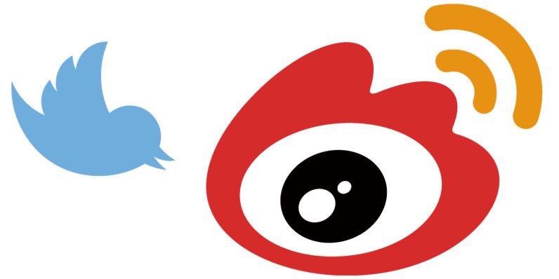 Weibo and Twitter Logos